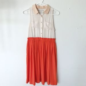 Antropologie Mini Flowy Dress